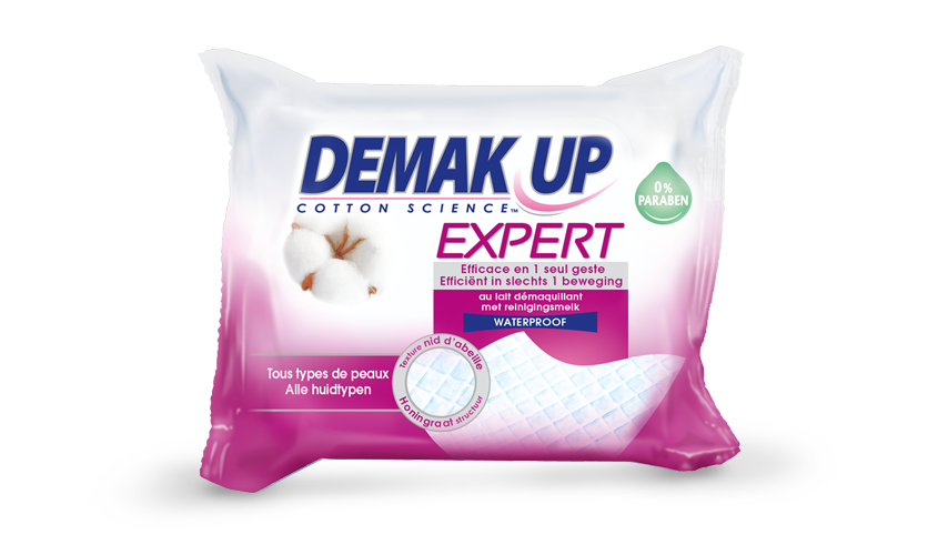 Demak'up - Lingettes Expert