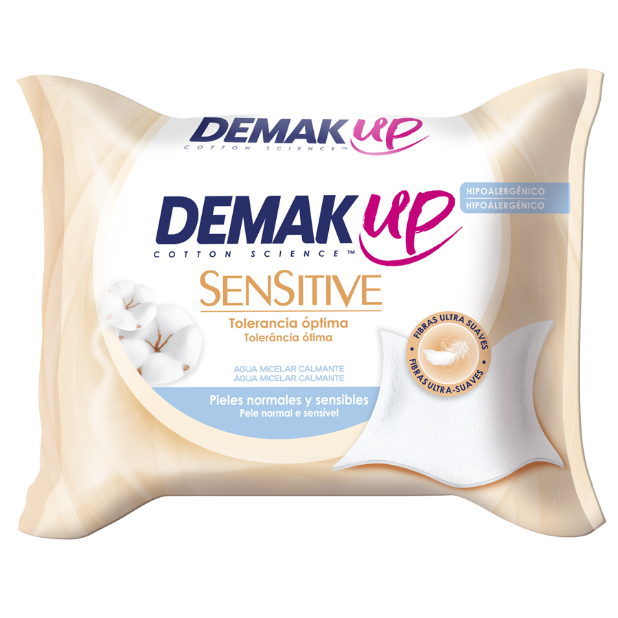 Toallitas Demak'Up Sensitive